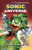 Sonic Universe 9: Babylon Rising : younger fans traces a feud between the...