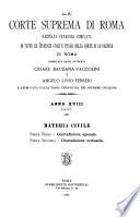 La Corte suprema di Roma