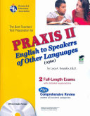 The Best Teachers  Test Preparation for the Praxis II English to Speakers of Other Languages  0360  Test