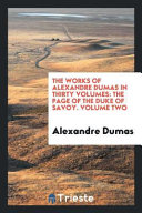 The Works of Alexandre Dumas in Thirty Volumes