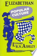 Elizabethan Popular Culture