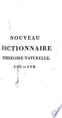 Nouveau dictionnaire d histoire naturelle appliqu  e aux arts