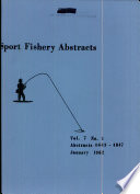 Sport Fishery Abstracts