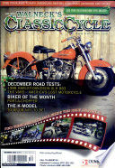 WALNECK S CLASSIC CYCLE TRADER  DECEMBER 2008