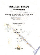Benedicti XIV. Opera Omnia et Bullarii Romani