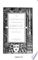 Die Kunstsammlungen Sr  Majest  t des K  nigs Karl s XV von Schweden und Norwegen zu Stockholm und Ulriksdal