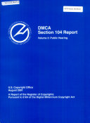 DMCA Section 104 Report : ...