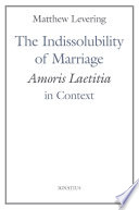The Indissolubility Of Marriage
