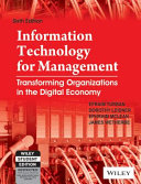 Information Technology For Management 6th Ed With Cd