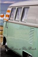 Life Is Better At The Beach Vintage Camping Caravan Campervan Log Book Journal