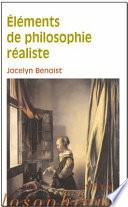 illustration Eléments de philosophie réaliste