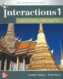 INTERACTIONS LISTENING SPEAKING 1 Class AUDIO CD