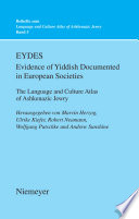 EYDES  Evidence of Yiddish Documented in European Societies