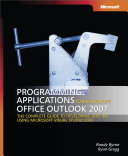 Programming Applications for Microsoft   Office Outlook   2007