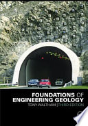 foundations of engineering geology third edition