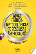 Notas teórico-metodológicas de pesquisas em educação