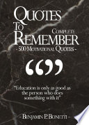 Quotes To Remember   Complete