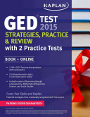 Kaplan GED   Test 2016 Strategies  Practice  and Review with 2 Practice Tests
