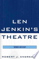Len Jenkin S Theatre