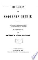 Die Lehren der modernen Chemie