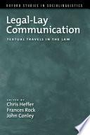 Legal Lay Communication
