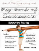 Big Book of Cursive Handwriting Practice  Over 18 000 Cursive Tracing Units