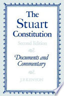 the stuart constitution 1603 1688