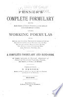 Fenner S Complete Formulary