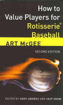 How to Value Players for Rotisserie Baseball