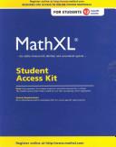 Mathxl Student Access Kit book