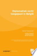 Diplomatiek Recht Toegepast In Belgi