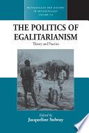 The Politics of Egalitarianism