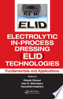 Electrolytic In Process Dressing  ELID  Technologies