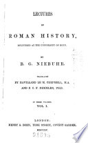 Lectures on Roman History
