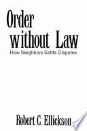 Order Without Law