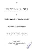 Eclectic Magazine Book PDF