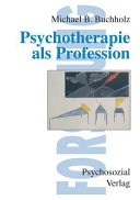 Psychotherapie als Profession