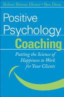 download ebook positive psychology coaching pdf epub