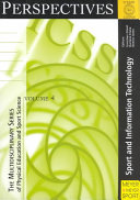 Sport And Information Technology book