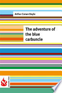 The adventure of the blue carbuncle  low cost   Limited edition