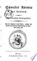 Schwester antonia von launay