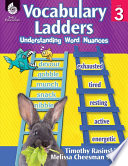 Vocabulary Ladders Understanding Word Nuances Level 3
