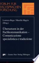 Comunicazione specialistica e traduzione
