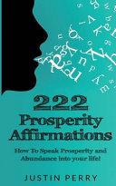 222 Prosperity Affirmations