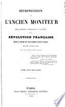 Réimpression de l'ancien Moniteur: Convention nationale