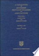 A Catalogue of Southern Peculiar Galaxies and Associations  Volume 1  Positions and Descriptions