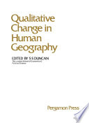 Qualitative Change in Human Geography