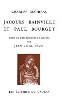 Jacques Bainville et Paul Bourget