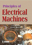 Principles of Electrical Machines Book
