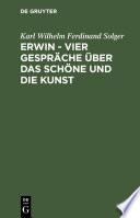 Erwin     Vier Gespr  che   ber das Sch  ne und die Kunst